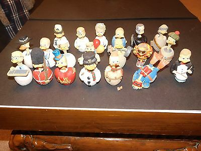20 EGGBERT COLLECTABLE FIGURES MALCOLM BOWMER inc RAMBO TERMINATOR NURSE DOCTOR