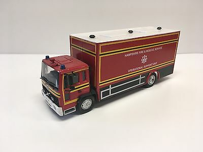 Fire Brigade Models Hampshire Fire and Rescue Volvo FL Operational Support Unit