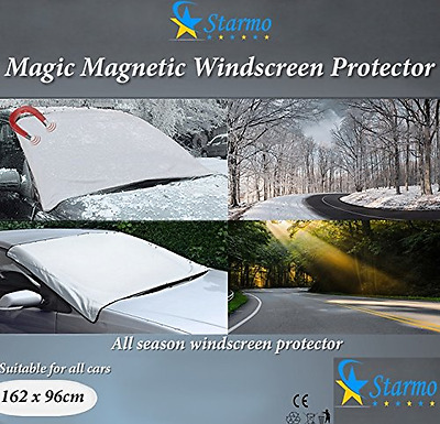Windscreen Cover Magnetic Car Windshield Protect from Sun, Ice, Frost & Snow All