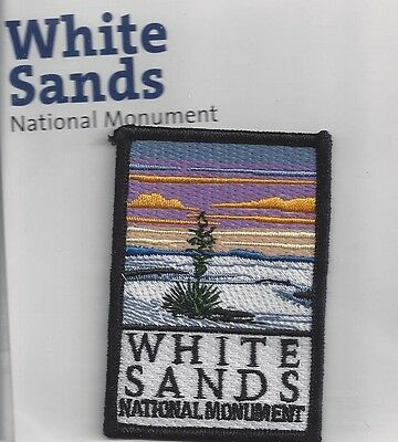 White Sands National Monument, New Mexico Souvenir Patch