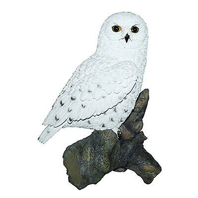 Snowy Owl Real Life Ornament by Vivid Arts