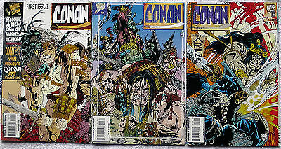 CONAN MARVEL Comics Issues PREMIERE ONE TWO + THREE 1995 First 1 2 3