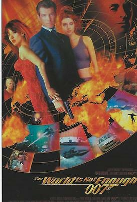 2016 Rittenhouse James Bond The World is Not Enough Base Card Set (72 cards)