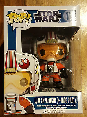 Funko Pop Star Wars #17 Luke Skywalker X-Wing Pilot New