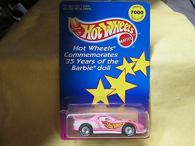 Hot Wheels Limited Edition Barbie Camaro! Car Mint Card Has Crack In Bubble!