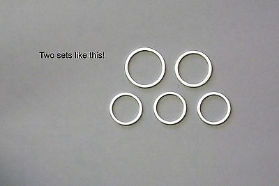 BMW: Oilhead R1100, R1150, etc Oil Change Crush washer Sets x 2 - See Notes