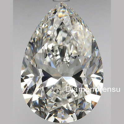 Pear Loose Moissanite with real cut 8x11.80mm