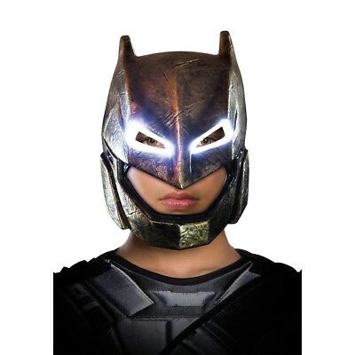 Adults Batman V Superman Armored Batman Light Up Mask Costume Accessory