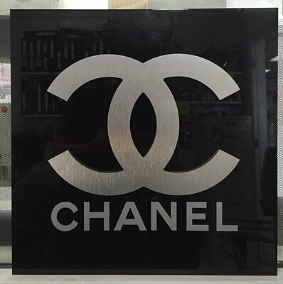 Chanel Logo Wall Sign