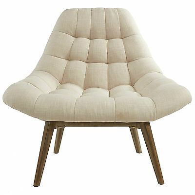 """""""Oasis"""" Collection Accent Chair in Beige Fabric by !nspire 403-206BG"""
