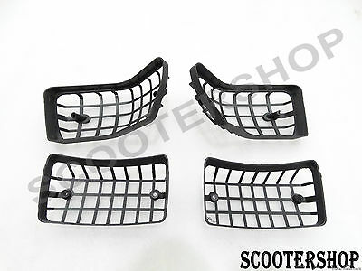 New Vespa Px T5 Lml Star Stella Black Indicator Protector Grill Special Quality