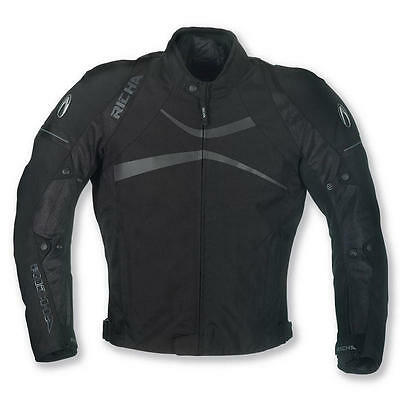 RICHA Boomerang Black Waterproof Sports Textile Motorcycle Jacket Clearence