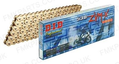 DID 530 ZVMX Gold X-Ring Drive Chain 116 Links - Superbike Street Road Racing