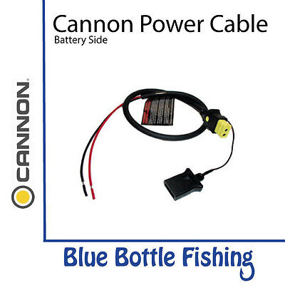 Cannon Downrigger Power Cable -  Battery Side
