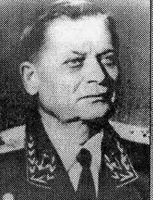 Admiral of the Fleet in the Soviet Navy Fomin chief of atomic department