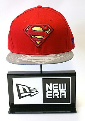 Era 9Fifty Superman Gris Rojo Reflectante Estampado Pico Tira trasera