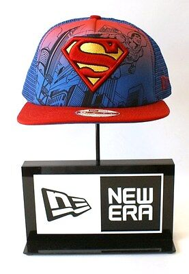 Era 9FIFTY Superman Héros Scene Bleu Maille Rouge Logo