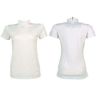* Ladies HKM White Winner Competition Shirt - All Sizes! *