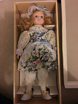 """Genuine Porcelain Doll Collection 19"""""""