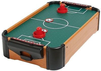 Portable Air Football Game Desktop Toy Arcade Office Play Room Kids Adults Small