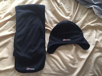 berghaus hat and scarf set S/M