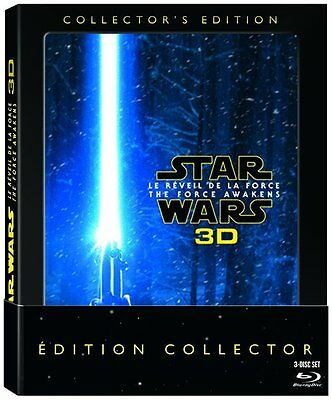 Star Wars : Le Réveil de la Force [Édition Collector Blu-ray 3D + Blu-ray] VF