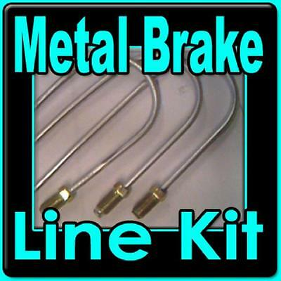Complete metal brake line kit Chev S10 GMC S15 82 to 98 -replace rusted lines!!!