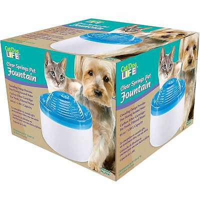 Cat/Dog Life Pet Water Fountain  030172083112
