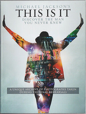 Michael Jackson Programme THIS IS IT Collector Magazine Program 2009