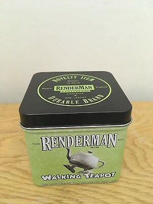 """Limited Edition 2013 PIXAR RenderMan Walking Teapot –""""Cacophonic Conductor"""""""
