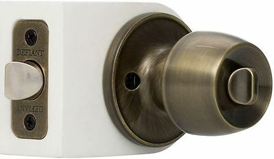 Bed Bath Bedroom Bathroom Locking Antique Brass Privacy Door Knob Knobset  Lever