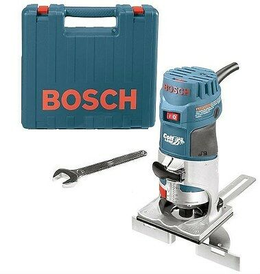 Bosch Pr20Evsk Palm Router Kit Colt Variable-Speed Fixed Base New