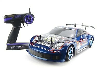 RC Auto HSP 94123 Drift Car Flying Fish RTR-Antrieb 4WD 1:10 RC540-Motor 2.4Ghz