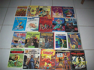 lot de 20 bandes dessinées livres (lot 1)