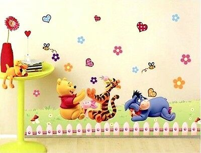 winnie the pooh tigger large wall sticker decal children/kids room mural gift