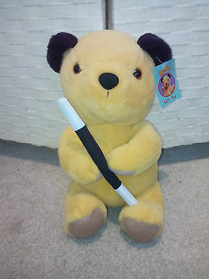 """Sooty Show Magician - Soft Plush Toy aprox 12"""" - with Tags - FREE UK POST"""