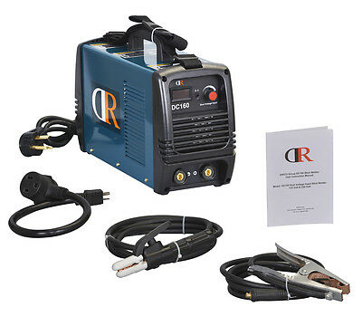 DR-160, 160-Amp Stick/Arc/MMA DC Inverter Welder 115/230V Dual Voltage Welding