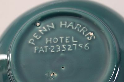 Penn Harris Hotel Coors Pottery Company Anholt Ashtray  Circa 1940's Excellent