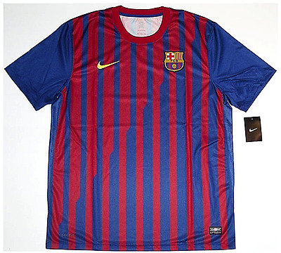 Barcelona 2011-12 *RARE* Player-Issue No-Sponsor (XL) Jersey *BRAND NEW W/TAGS*