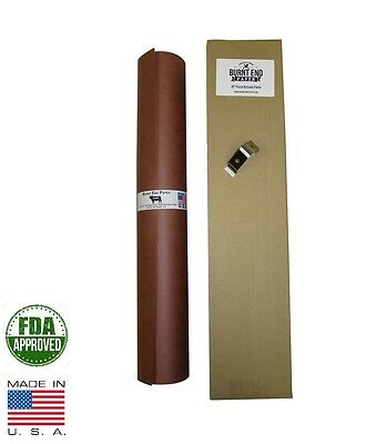 "18"" x 100' Pink/Peach Butcher Paper Roll Smoker Safe Aaron Franklin BBQ Style"