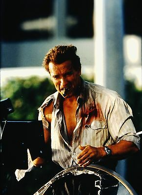 "ARNOLD SCHWARZENEGGER in ''True Lies"" - Original 35mm COLOR Slide - 1994"