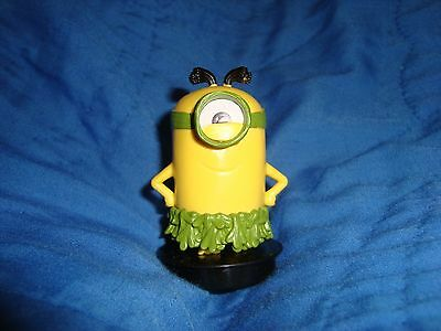 Minions Kevin PVC Figure Snapco Movie Cup topper