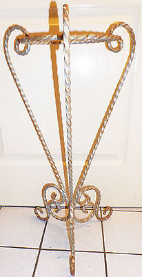 French Wrought Iron garden plant stand Shabby Chic Garden Outdoor/Indoor