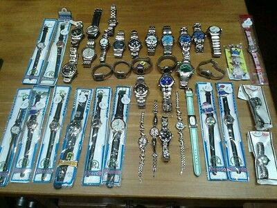 job lot of 40 watches..brand new..no longer trading.