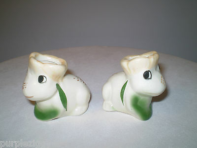 Vintage Pair of Frog Toothpick Holders ~ Perfect for the Frog Collector