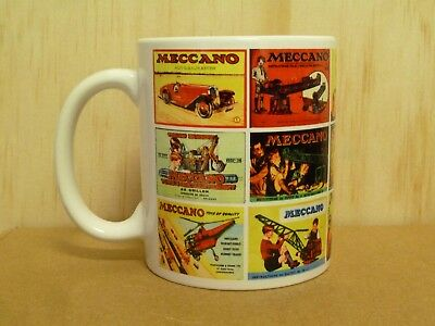 300ml COFFEE MUG, MECCANO CATALOGS, CATALOGUES, INSTRUCTIONS