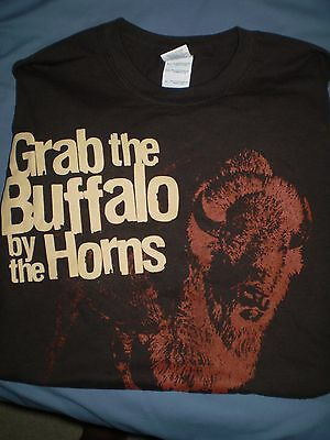 Buffalo Trace Bourbon never worn Large size beer t-shirt  LAST ONE !