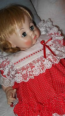 1965 Vintage Baby Doll Madame Alexander Large crier Great body 22 Inch Beauty