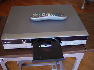 Humax TiVo Series2 80GB HDD/DVD Recorder Tested Great Working Condition