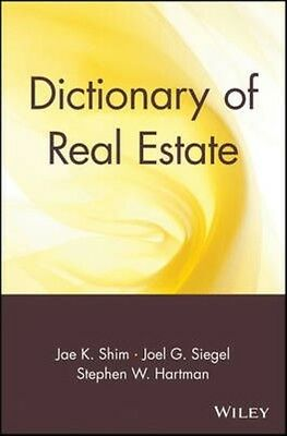 Dictionary of Real Estate by Jae K. Shim Paperback Book (English)